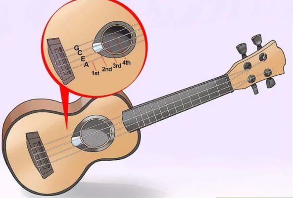 3 cách chỉnh dây đàn ukulele 1